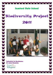 Biodiversity Project SSS